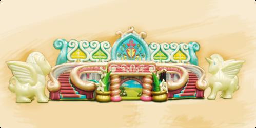 Надувная декорация Замок Волшебных Пони