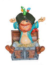 Пират на сундуке
