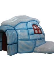 Иглу дом из снега