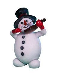 Снеговик скрипач