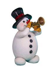 Снеговик трубач