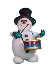 Снеговик барабанщик