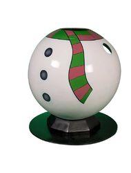 Снеговик шар тантамареска