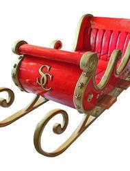 Сани Санта Клауса (4 места)